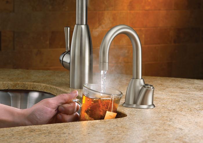 InSinkErator HOT100SN SS Instant Hot Water Dispenser   Satin Nickel  InSinkErator HOT100 ...