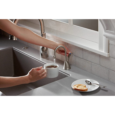 InSinkErator HC-WAVESN-SS Involve Wave Hot and Cool Water Dispenser