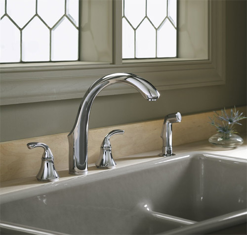 Kohler-K-10445-CP-Forte-Widespread-Kitchen-Faucet---Polished-Chrome
