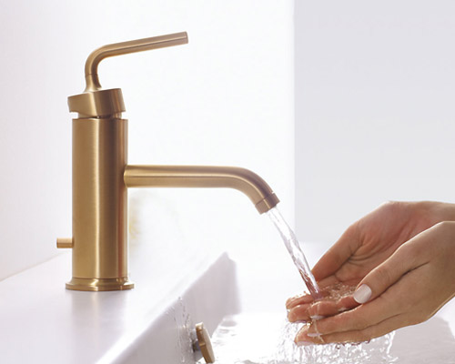 Kohler K 14402 4a Bgd Single Handle Lavatory Faucet Ceramic Disc Valve Pop Up Included Vibrant