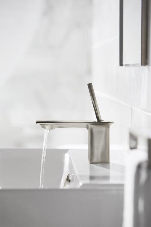 Kohler K 14760 4 Bn Stance Single Control Lavatory Faucet