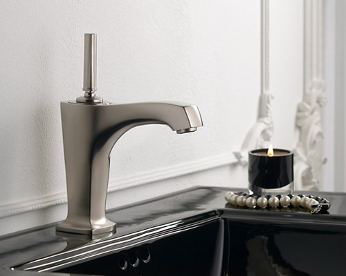 New 8 Roman Widespread Lavatory Bathroom Sink Faucet Oil: Kohler K-16230-4-BN Margaux Single-Control Lavatory Faucet