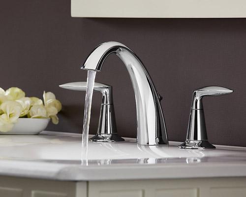 Kohler K 45102 4 Cp Alteo Widespread Lavatory Faucet Chrome