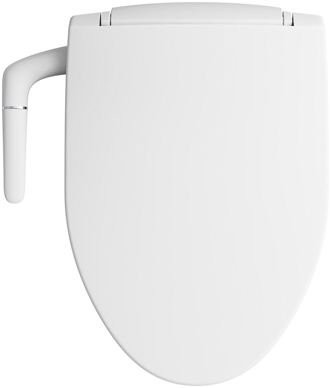 Kohler K 5724 0 Puretide Manual Cleansing Elongated Toilet