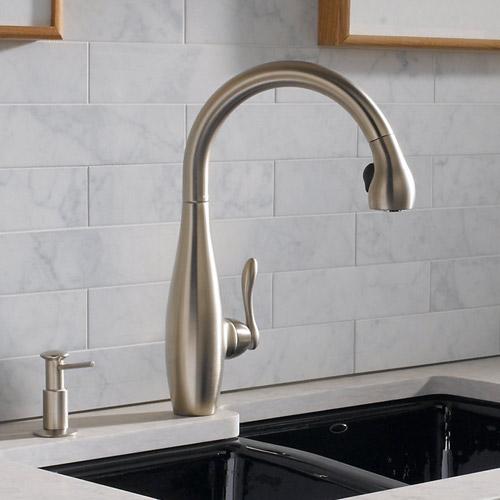 Kohler K 692 Vs Clairette Pull Down Kitchen Faucet