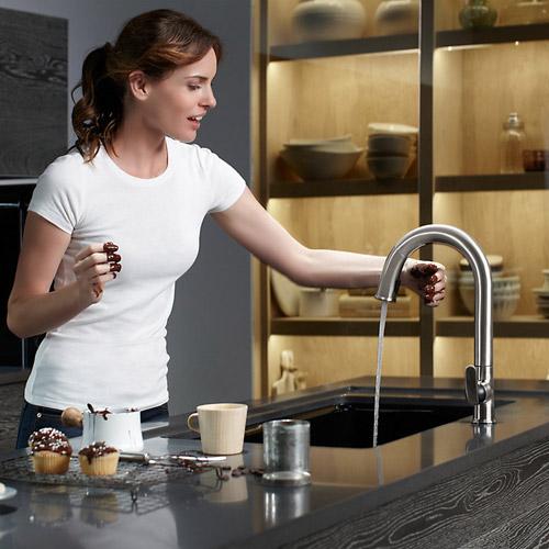 Kohler K 72218 B7 Vs Sensate Touchless Pull Down Kitchen