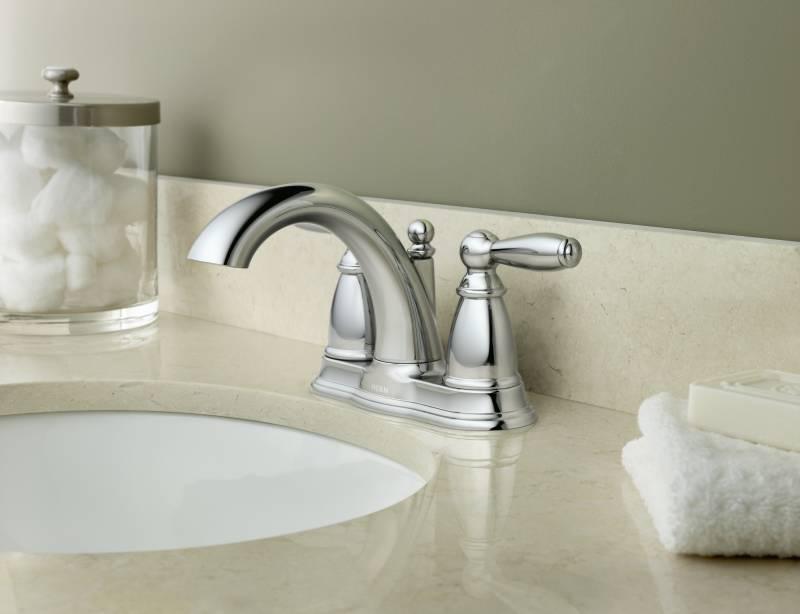 Moen 6610 Brantford Two Handle Centerset Lavatory Faucet