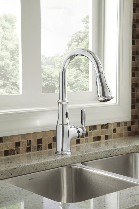 Moen 7185ec Brantford With Motionsense Single Handle High