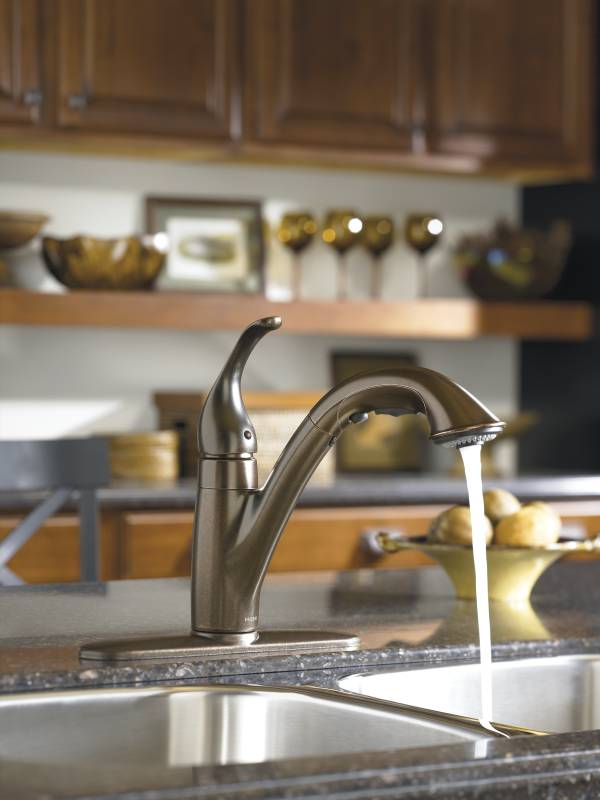Moen 7545orb Camerist Single Handle Pullout Kitchen Faucet