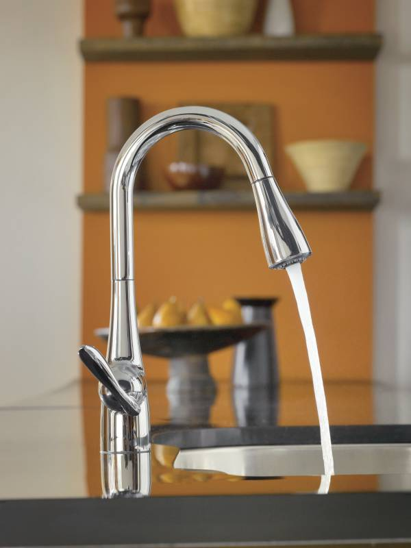 Image Result For Moen C Arbor One Handle High Arc Pulldown Kitchen