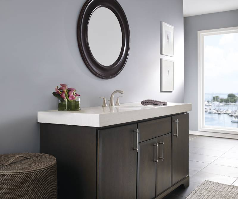 8 in centerset bathroom faucet. Moen 84551SRN Darcy Two Handle 8  Widespread Lavatory Faucet
