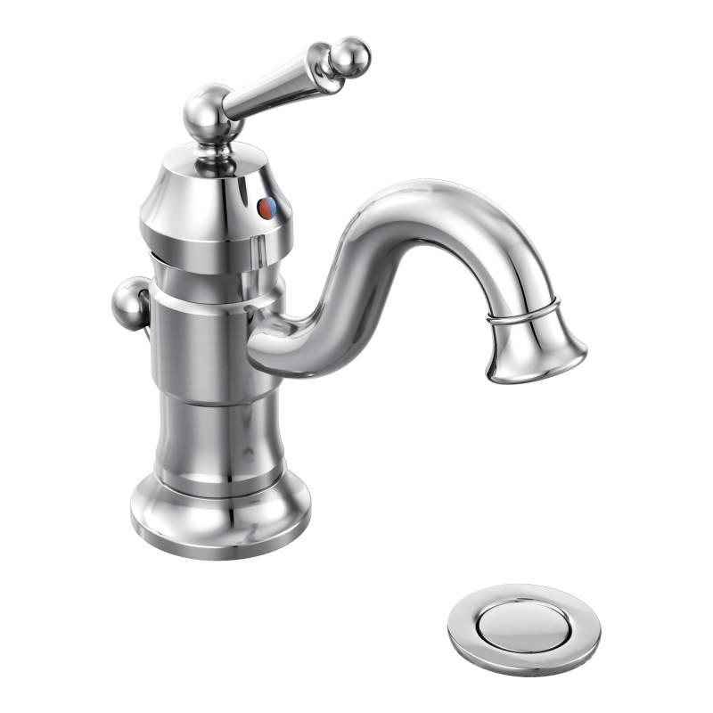 Moen Showhouse S411 Waterhill Single Hole Centerset Lavatory Faucet