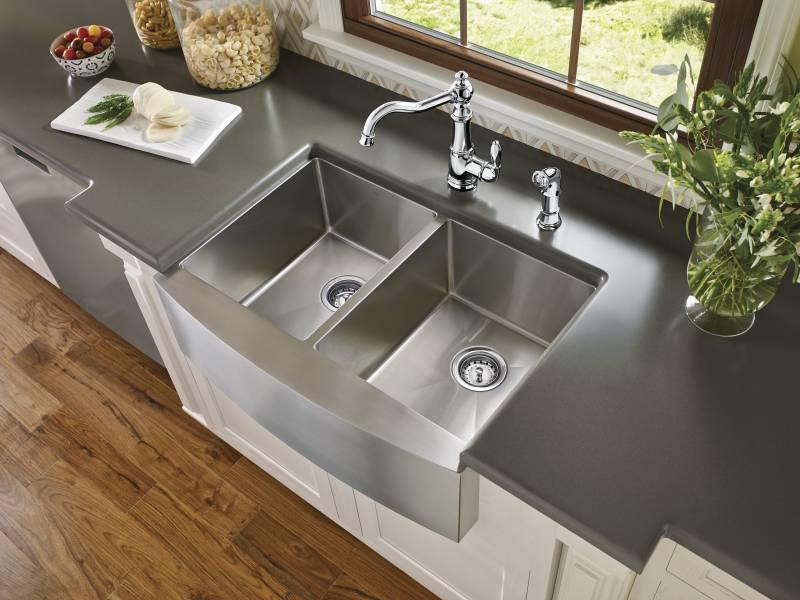Moen S72101 Weymouth Single Handle High Arc Kitchen Faucet