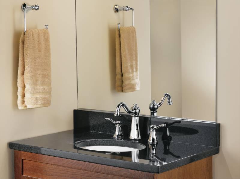 Moen T6305 Vestige Widespread Lavatory Faucet Trim Chrome ...