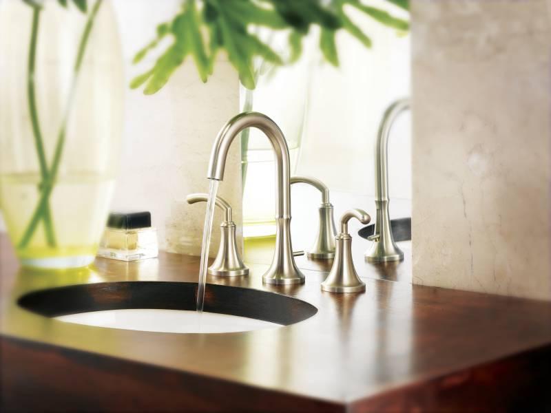 Moen Ts6520bn Icon Two Hanlde Widespread Lavatory Faucet