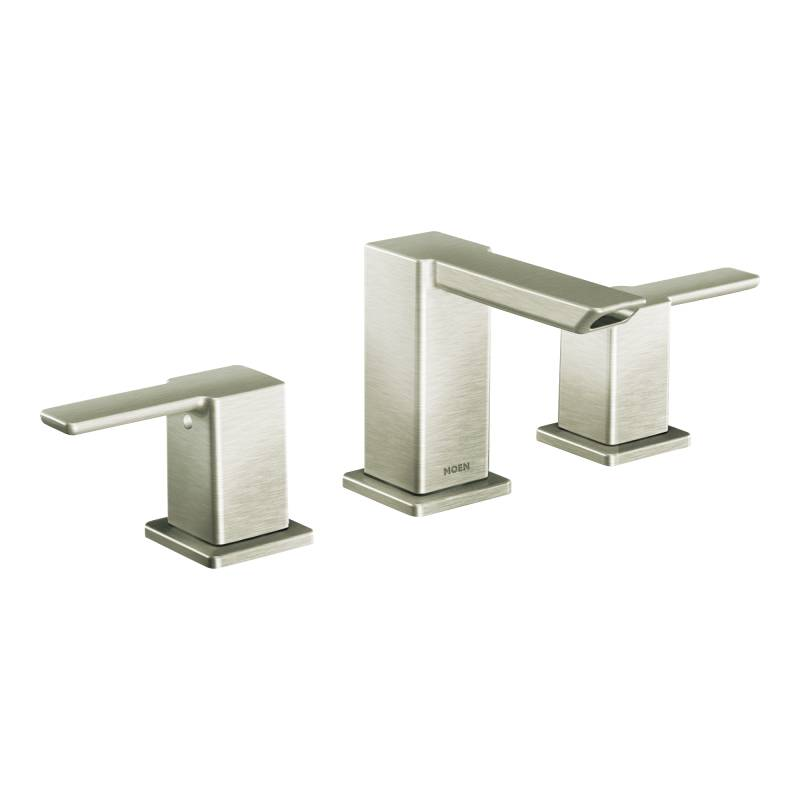 Moen Ts6720bn 90 Degree Two Handle Widespread Lavatory Faucet Trim Brushed Nickel