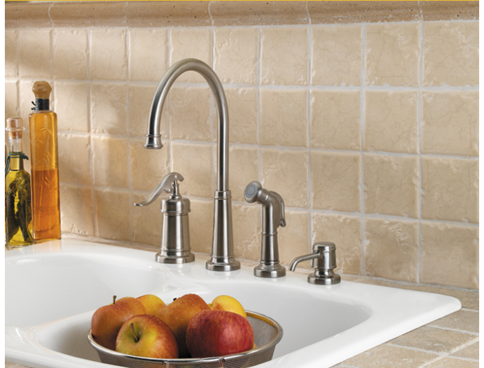 Price Pfister Kitchen Faucets Installation Instructions