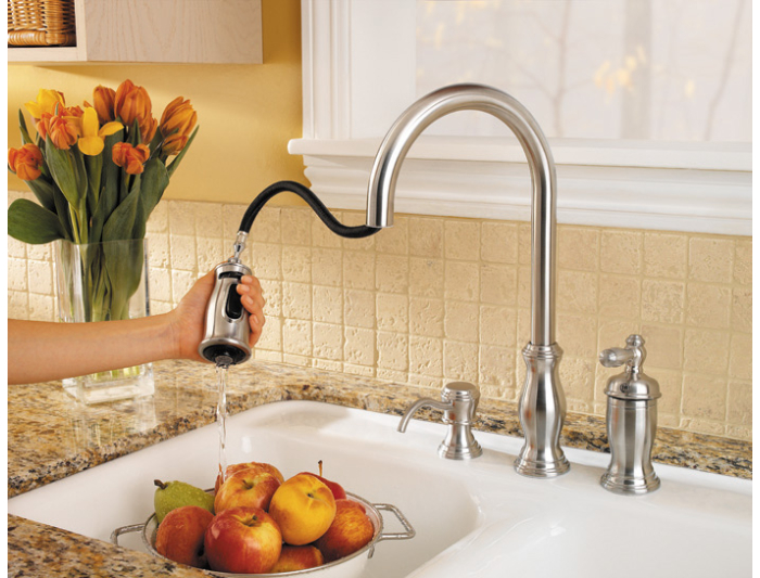 Pfister Gt526 Tms Hanover Single Handle Pull Down Kitchen