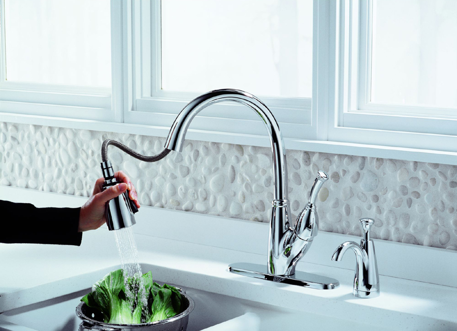 Delta 989-DST Allora Single Handle Pull-Down with DIAMOND Seal Technology