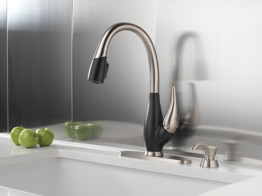 Delta Bridge Style Kitchen Faucet