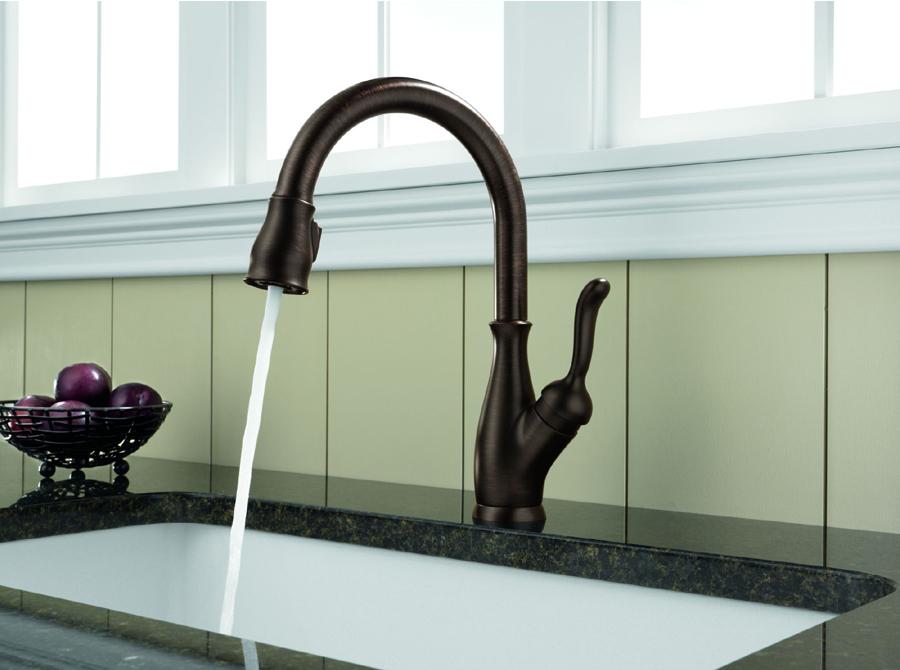 delta 9178 rb dst leland single handle pull down kitchen faucet rh faucetdepot com