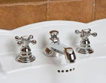 Newport Brass 920-26 Astor Two Handle Widespread Lavatory Faucet - Polished Chrome