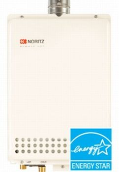 Noritz NR66-SV-NG Indoor/Outdoor Natural Gas Residential Tankless Water Heater (N-531S)