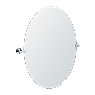 Gatco 4159S Jewel Mirror Satin Nickel