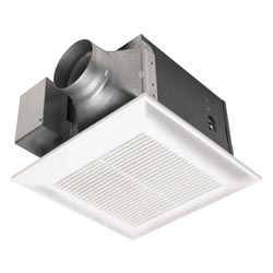 Panasonic FV-08VK3 WhisperGreen(R) 80 CFM Ceiling Mounted Ventilation Fan with DC motor