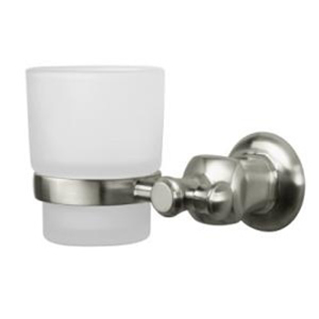 Pegasus 20735-0804 Verdanza Wall Mounted Tumbler Holder in Brushed Nickel