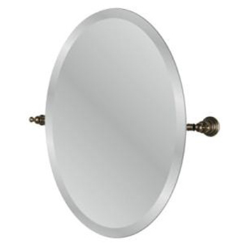 Pegasus 20720-4596H Estate Oval Mirror in Heritage Bronze