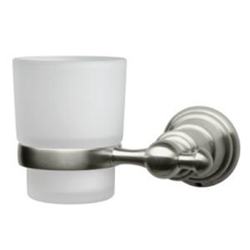 Pegasus 20720-0804 Estates Wall Mounted Tumbler Holder in Brushed Nickel