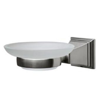 Pegasus 20714-0904 Exhibit Wall Mounted Soap Dish Brushed Nickel