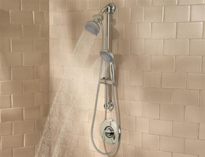 Price Pfister 016-HH3K Slide Bar and Handheld Shower System - Brushed Nickel