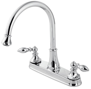 Price Pfister 536-E0BC Catalina 3-Hole Kitchen Faucet with Pull-Out Sprayer - Chrome