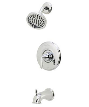 Price Pfister 808-CB0C Avalon Shower and Tub Trim With Valve - Polished Chrome