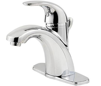 Price Pfister F-042-PRCC Parisa Single Handle Lavatory Faucet - Polished Chrome