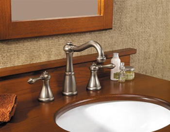 Price Pfister F-049-M0BE Marielle 3 Hole Widespread Lavatory Faucet - Rustic Pewter