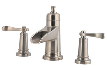 Price Pfister F-049-YW1K Ashfield Two Handle Widespread Lavatory Faucet - Brushed Nickel