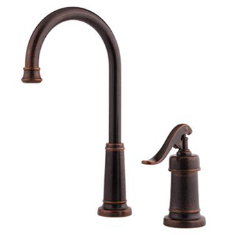 Price Pfister F-072-YP2U Ashfield Single Handle Bar Faucet - Rustic Bronze
