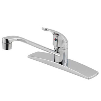 Price Pfister G134-1444 Pfirst Single Lever Kitchen Faucet - Polished Chrome
