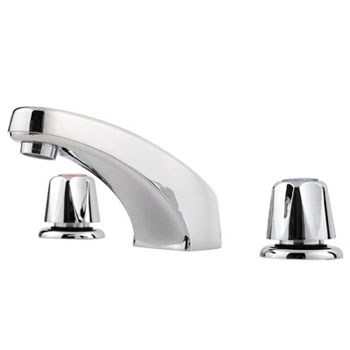 Price Pfister G149-6000 Double Knob Widespread Lavatory Faucet - Polished Chrome
