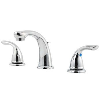 Price Pfister G149-6100 Pfirst Two Handle Widespread Lavatory Faucet - Polished Chrome