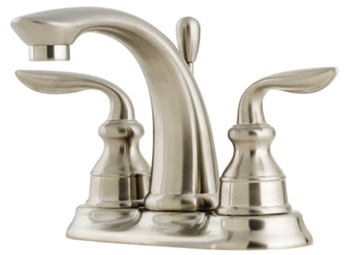 Price Pfister GT48-CB0K Avalon Two Handle Centerset Lavatory Faucet - Brushed Nickel