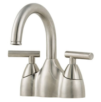 Price Pfister GT48-NK00 Contempra Two-Handle Centerset Lavatory Faucet - Brushed Nickel