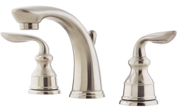 Price Pfister GT49-CB0K Avalon Two Handle Widespread Lavatory Faucet - Brushed Nickel