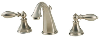 Price Pfister GT49-E0BK Catalina Collection Widespread Lavatory Faucet - Brushed Nickel