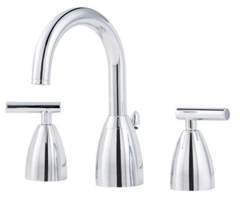 Price Pfister GT49-NC00 Contempra Widespread Lavatory Faucet - Chrome