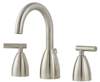 Price Pfister GT49-NK00 Contempra Widespread Lavatory Faucet - Brushed Nickel