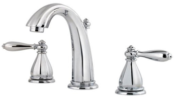 Price Pfister GT49-RP0C Portola Two Handle Widespread Lavatory Faucet - Chrome